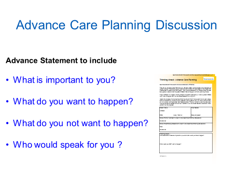 Give Peace of Mind: Advance Care Planning