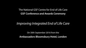 Recent GSF Conference & Awards